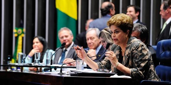 Dilma Rousseff (Foto: Jonas Pereira/Agência Senado)