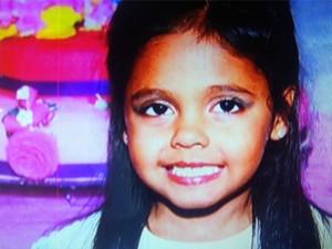 Menina morta em Natividade (Foto: Reprodução/InterTv RJ)