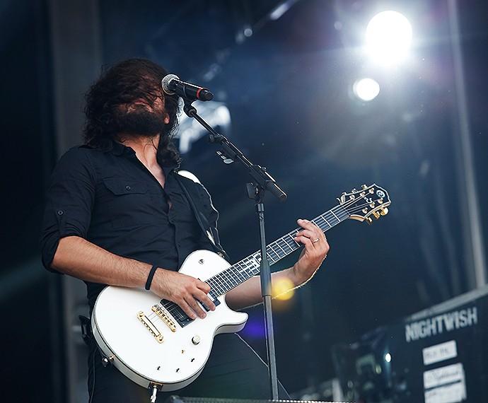 Ricardo Amorim no quinto dia de Rock in Rio  (Foto: Fábio Rocha/Gshow)