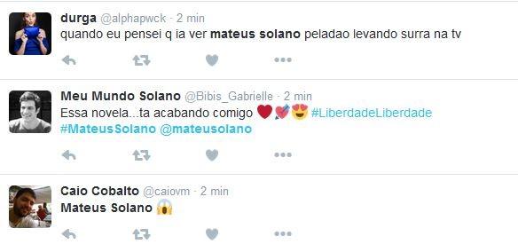 Internautas comentam cena de Rodrigo Santoro (Foto: reprodução/twitter)