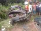 Colisão frontal entre dois carros deixa cinco pessoas feridas em Coruripe, AL