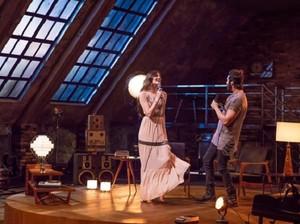 Luan e Camila gravam juntos (Foto: Arquivo Pessoal)