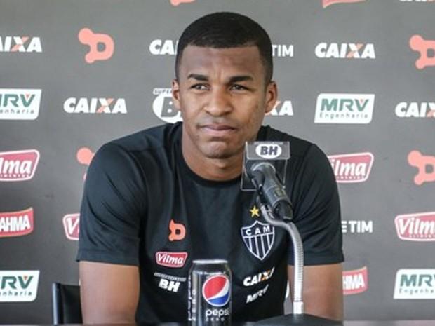 Jogador do Atlético-MG, Erazo, envolveu-se em batida em Belo Horizonte. (Foto: Bruno Cantini/Atlético-MG)
