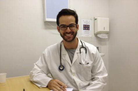 Bruno Dubeux: médico e ator (Foto: Arquivo pessoal)