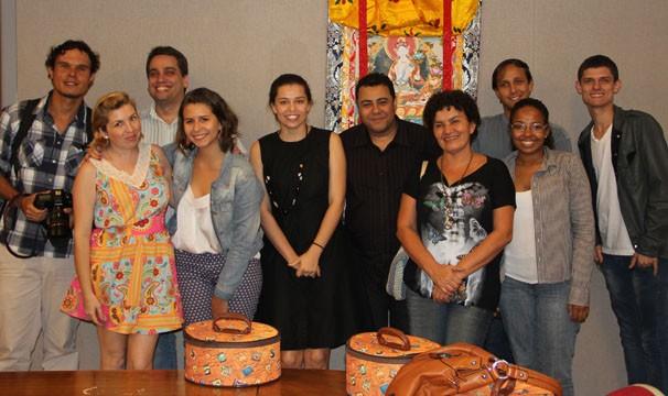 Blogueiros de diversas partes do país participaram do encontro (Foto: Amanda Freitas/ TV Globo)