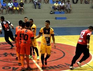 MP3 x Cajuína - Campeonato Piauiense de Futsal (Foto: Renan Morais)