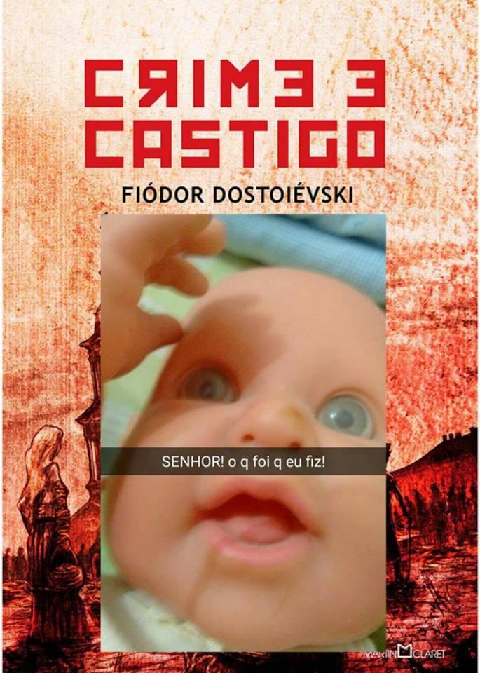 (Foto:  Obras literárias com capas de memes genuinamente brasileiros)