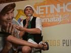 Netinho conta que a voz está quase 100% e relembra tentativas de suicídio