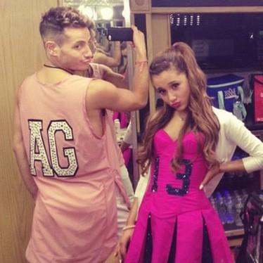 Ariana Grande e Frankie Grande (Foto: Instagram)