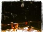 Grávida, Nívea Stelmann curte banheira com o filho na Bahia