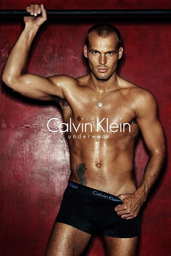 Freddie Ljungberg para Calvin Klein (Foto: Divulgação)