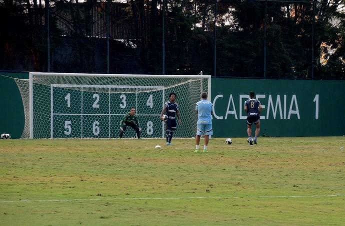 Palmeiras treino pênaltis (Foto: Felipe Zito)