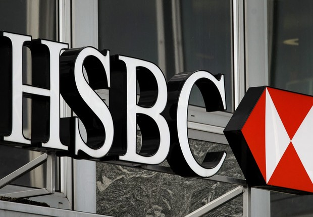 Fachada de unidade do banco HSBC (Foto: Getty Images)