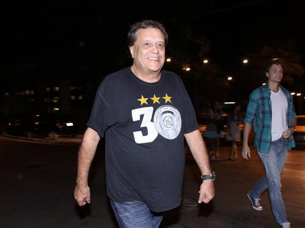 Denis Carvalho em festa no Rio (Foto: Alex Palarea/ Ag. News)