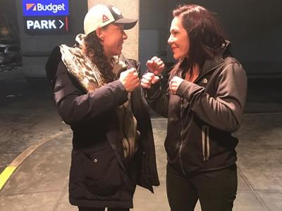 Cris Cyborg Germaine de Randamie UFC 208 (Foto: Reprodução Facebook)
