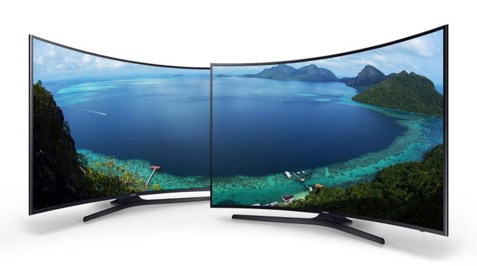 Smart TV da Samsung oferece tela cuva de 49 polegadas em 4K (Foto: Divulgação/Samsung)