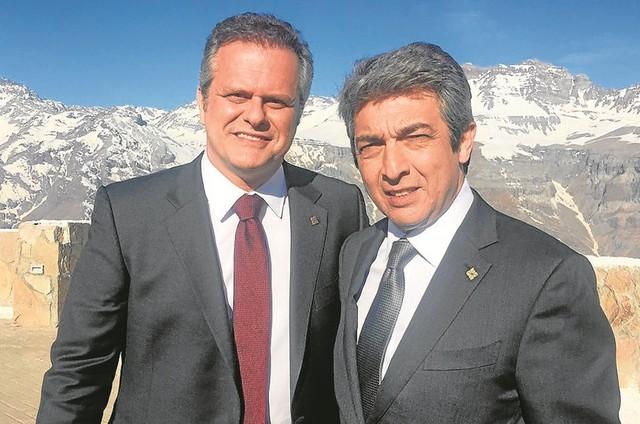 Leonardo Franco e Ricardo Darín (Foto: Arquivo pessoal)