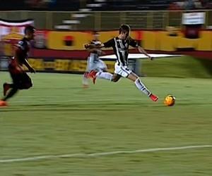 Vitória Botafogo Copa do Brasil sub-17 (Foto: Reprodução SporTV)