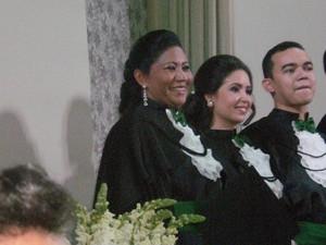 Wilses Tapajós, na cerimônia de colação de grau, em Palmas (Foto: Wilses Tapajos/Arquivo Pessoal)