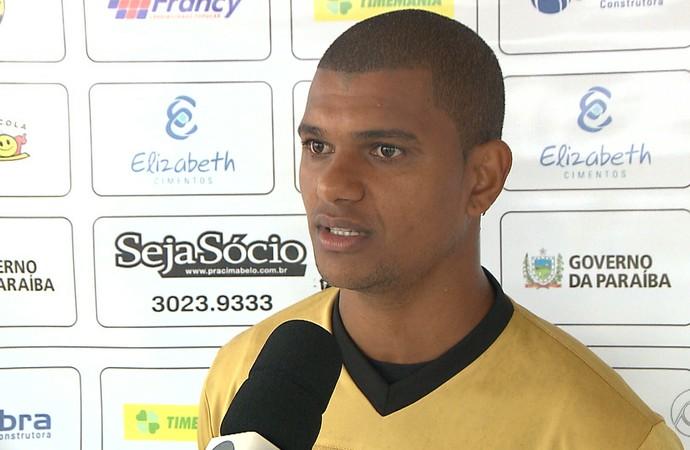 Müller Fernandes, Botafogo-PB (Foto: Reprodução / TV Cabo Branco)