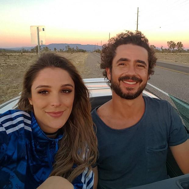 Rafa Brites e Felipe Andreolli (Foto: Instagram / Reprodução)