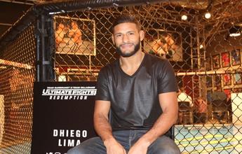 """Dhiego Lima: """"Se não chegar na final do TUF, acho que não vou mais lutar"""""""