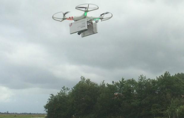 Imagem divulgada pela Women on Wavs mostra o que seria o 'drone abortivo' (Foto: Divulgação)