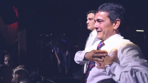 Maurício, pai de Fernanda Gentil (Foto: Video/Reprodução)