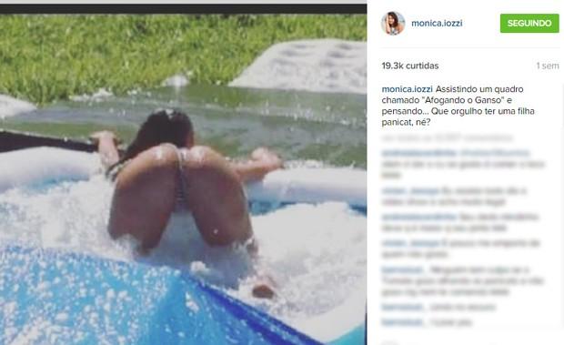 Post de Monica Iozzi  (Foto: Instagram / Reprodução)