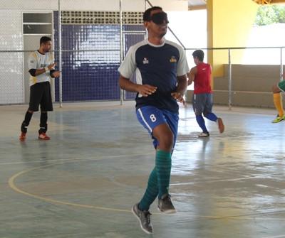 Nonato, Futebol de 5, Petrolina, ADVP (Foto: Emerson Rocha)