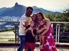 Vanessa Lóes comemora nove anos de casamento com Thiago Lacerda