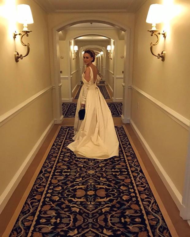 Sarah Jessica Parker teve a foto mais curtida do Globo de Ouro (Foto: Reprodução / Instagram)