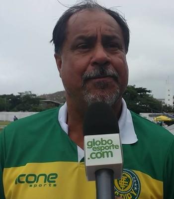 Samuel Batista, técnico do Tupy-ES (Foto: Richard Pinheiro/GloboEsporte.com)