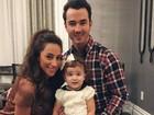 Kevin Jonas, do Jonas Brothers, dá boas vindas à sua segunda filha