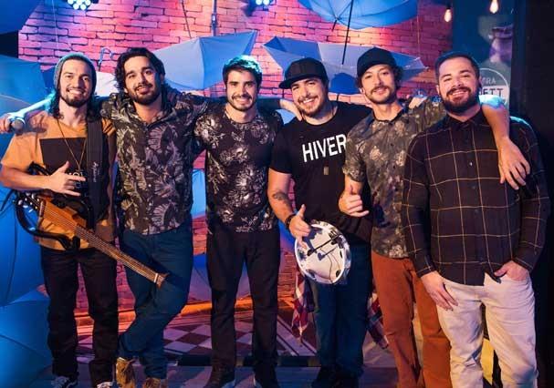 Érick, Pedrinho, Leandro, Karan, Regê e GP (Foto: Divulgação)