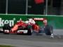 """Vettel frita pneus por gaivotas e brinca com Hamilton: """"Não freia para animais"""""""