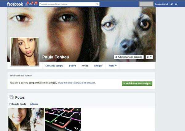 Homem tinha perfil falso em rede social (Foto: Reprodução Facebook)