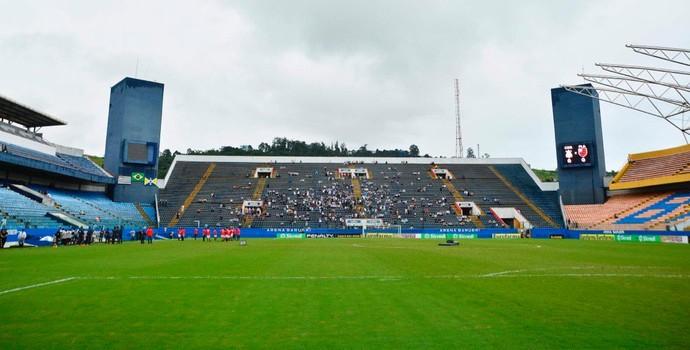Corinthians x Flamengo Copinha arena Barueri (Foto: Marcos Ribolli)