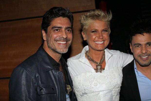 Junno e Xuxa  (Foto: Thyago Andrade e Gabriela Andrade/Photorio News)