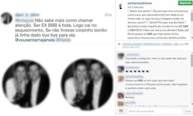 Adriana Sant'ana (Foto: Instagram / Reprodução)