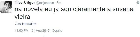 Susana Vieira recebe elogios de internautas (Foto: Reprodução/Twitter)