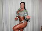 Saradona, Gracyanne Barbosa fala sobre críticas: 'Não me incomodo'