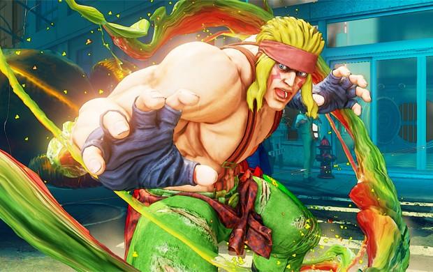Alex é o primeiro lutador extra de 'Street Fighter V' (Foto: Divulgação/Capcom)