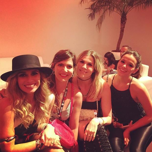 Giovanna Antonelli, Carol Sampaio, Julia Faria e Bruna Marquezine (Foto: Instagram / Reprodução)