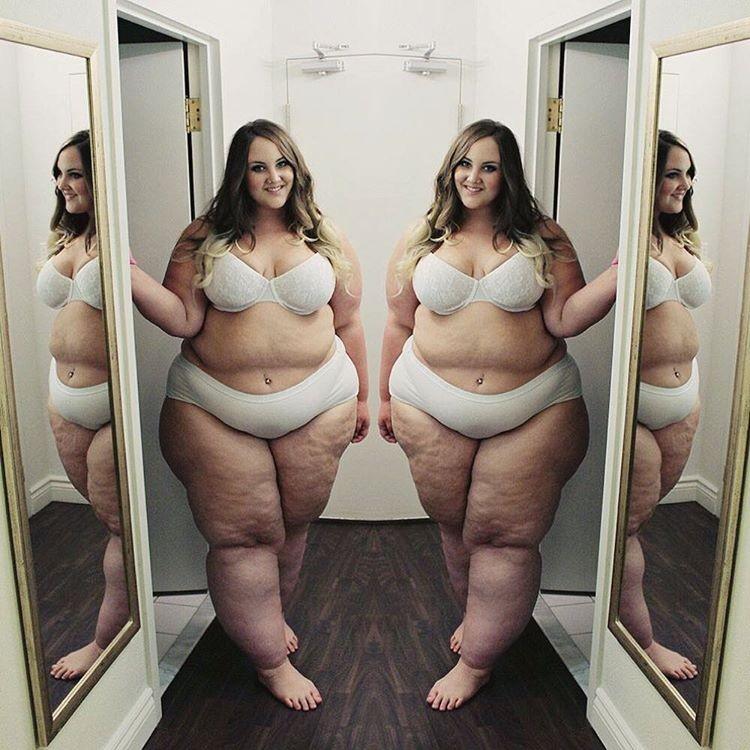 """""""A gordofobia ainda está muito presente na nossa sociedade"""", diz Courtney Mina (Foto: Reprodução Instagram)"""