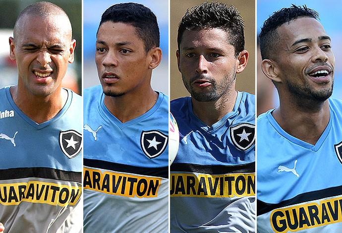 Montagem Botafogo (Foto: Editoria de arte)