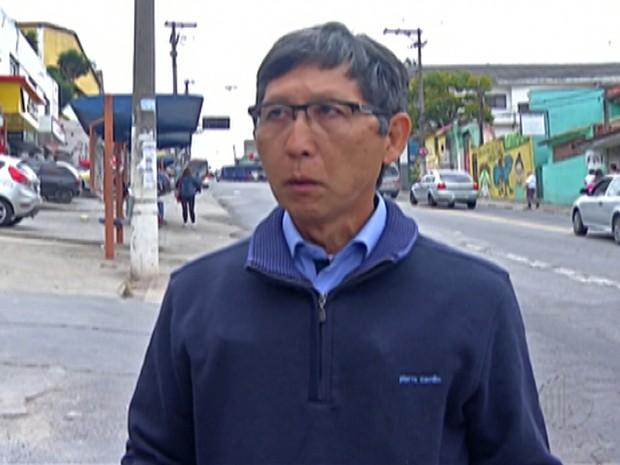 Candidatos Prefeitura Itaquaquecetuba - Mamoru Nakashima (Foto: Reprodução/TV Diário)