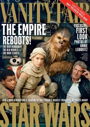 Capa da 'Vanity Fair' especial sobre 'Star Wars' (Foto: Divulgação)