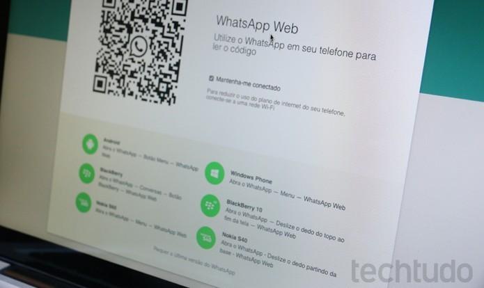 whatsappweb11 Como apagar histórico de mensagens de suas conversas no WhatsApp Web