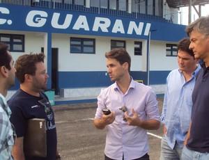 Sávio e Renan Dal Zotto assumem o Guarani (Foto: divulgação)